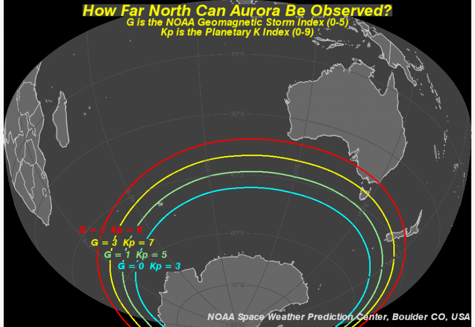 Tips On Viewing The Aurora NOAA NWS Space Weather Prediction Center
