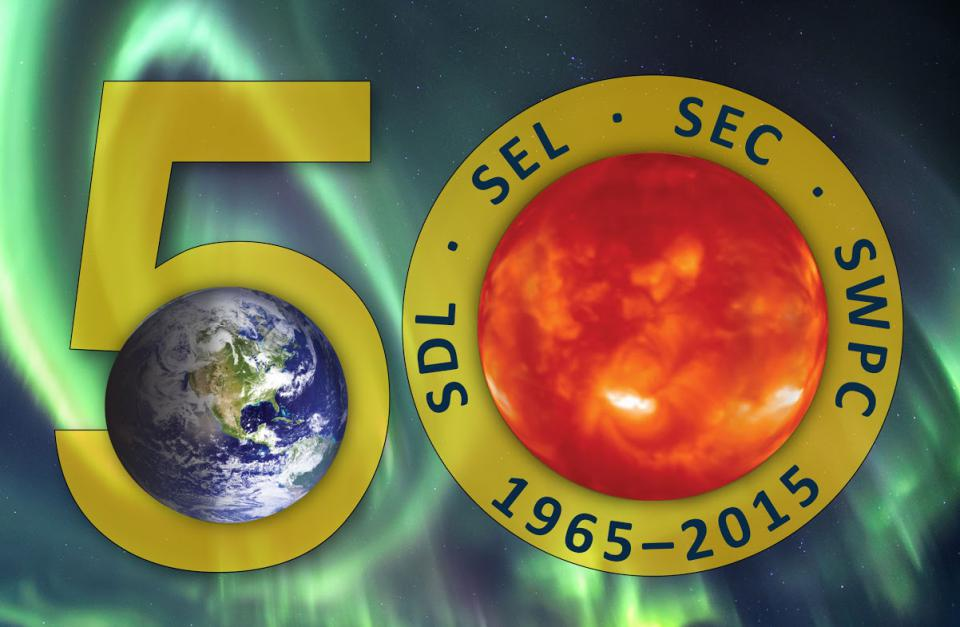 50th Anniversary Graphic (credit: Anne Reiser, NOAA and Barb Deuisi, NOAA)