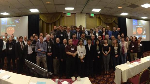 A group picture of about 60 of the 2014 participants.