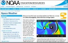 NOAA Space Weather Education Resource