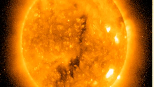 Image depicting a Coronal Hole