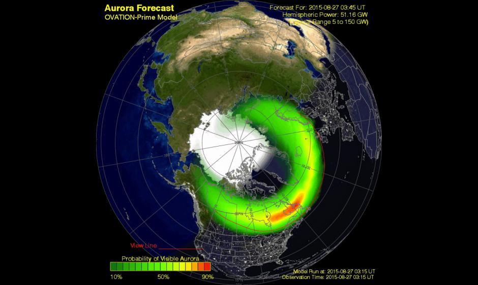 Aurora Oval Forecast