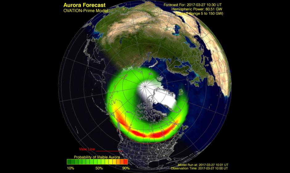 OVATION-Prime Aurora Forecast Model