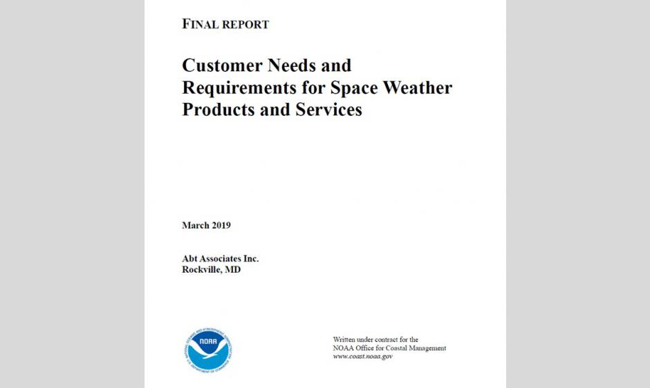 Customer Needs & Requirements for Space Weather