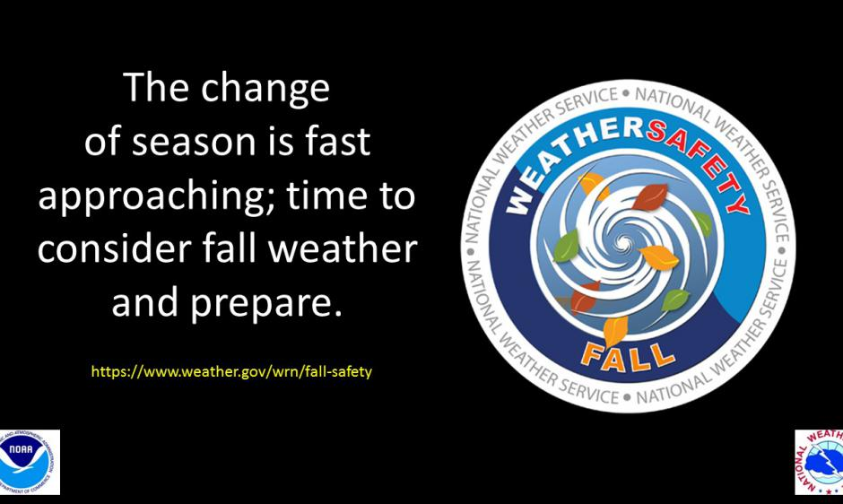 NWS 2019 Fall Safety Campaign