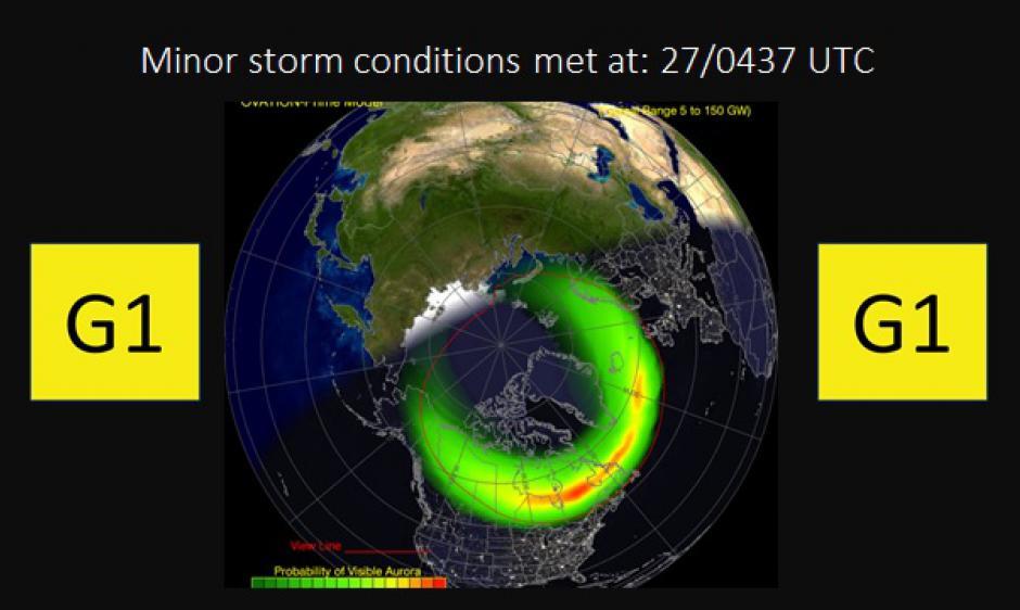 G1 alert with Ovation Aurora model