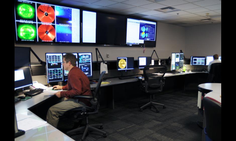 SWPC Forecast Center Image