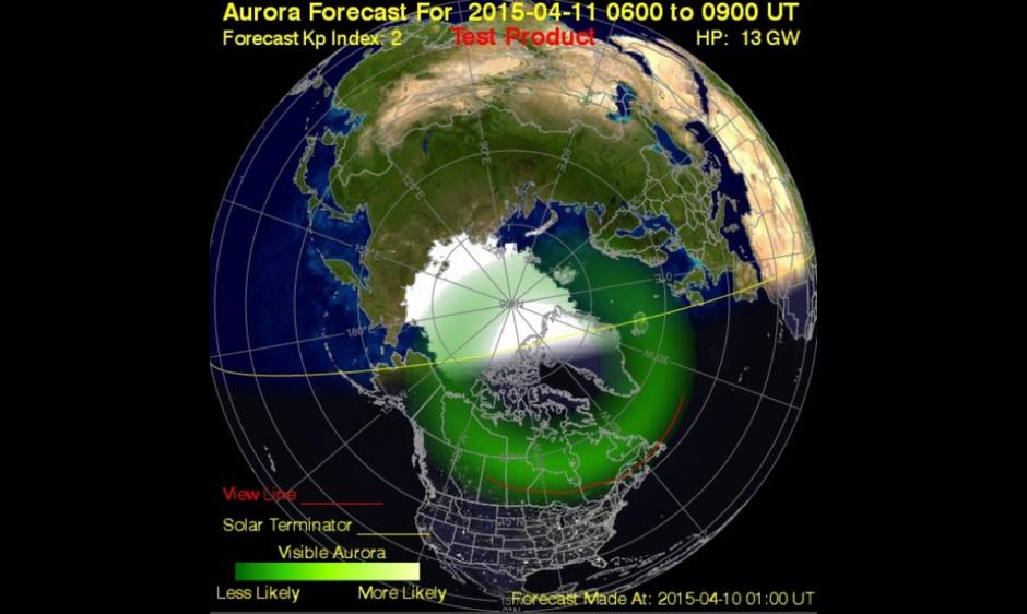 Auroral Ovational Model image
