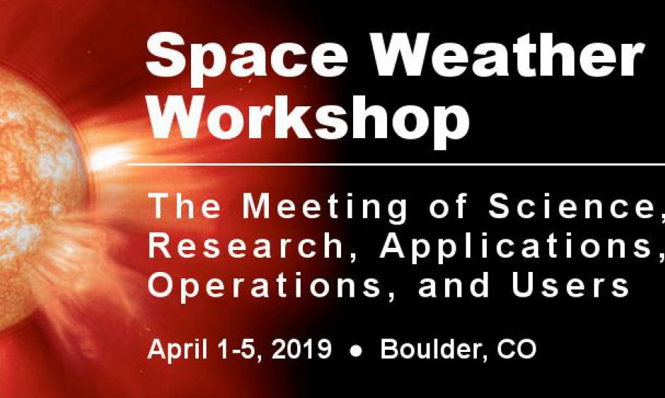 2019 Space Weather Workshop Banner