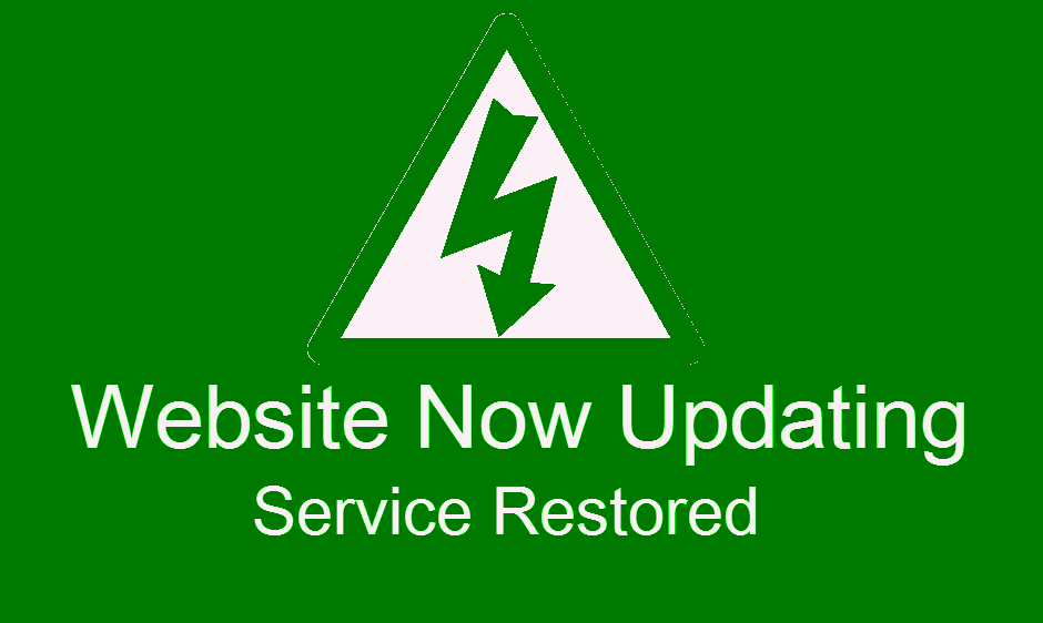 Service Restored - Saturday March 7th, 2015