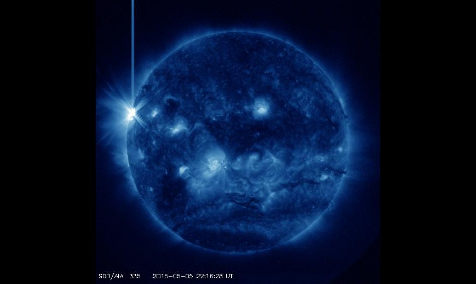 SDO/AIA 335 Imagery of R3-Strong Radio Blackout