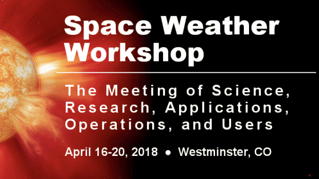 2018 Space Weather Workshop Banner