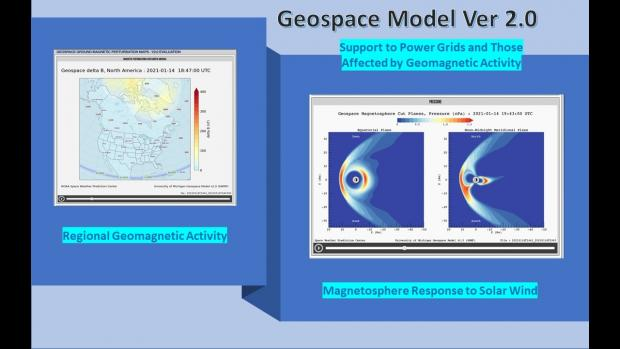 Geospace Model Version 2.0 Begins Operations in Support of Power Grids