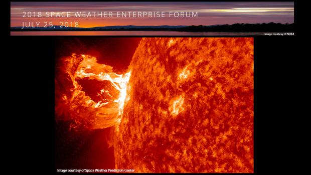 Space Weather Enterprise Forum 2018