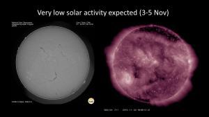 H-alpha and SDO imaes of Sun on 2 Nov 2016