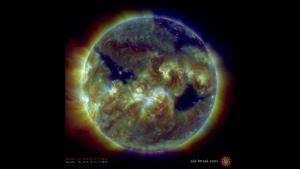 SDO/AIA composite image