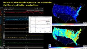 Geoelectric Field Model Response to SI 10 Dec, 2020