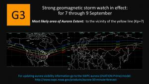 G3 Watch for 7-9 September, 2017