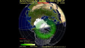 Auroral Ovational Model image