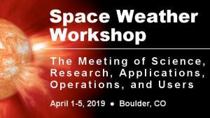 2019 Space Weather Workshop Banner