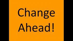 Change Ahead!