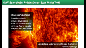 Space Weather Toolkit Banner Page