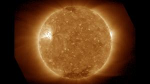 A SUVI 195 image of the sun