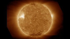 A SUVI 195 image of the sun